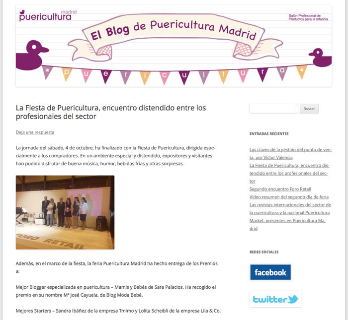 Blog de Puericultura Madrid