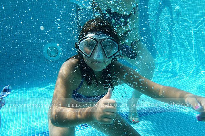 Fotografía bajo el agua Eva Menacho