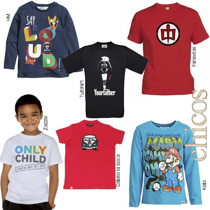 Camisetas infantiles chicos 02
