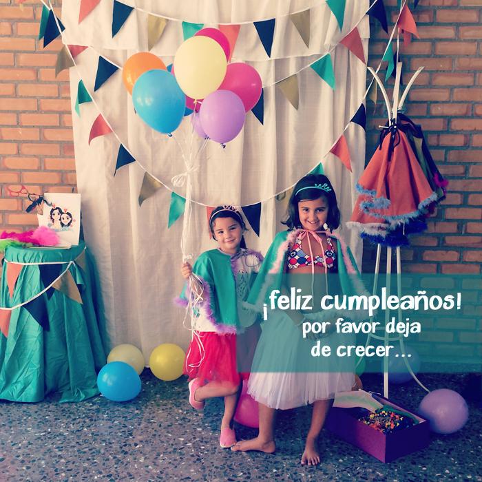 La fiesta de Aldara. Cumpleaños Aldara