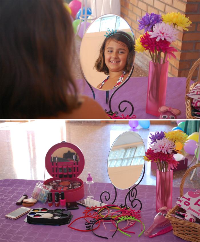 Mesa maquillaje
