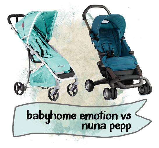 Nuna Pepp Babyhome emotion
