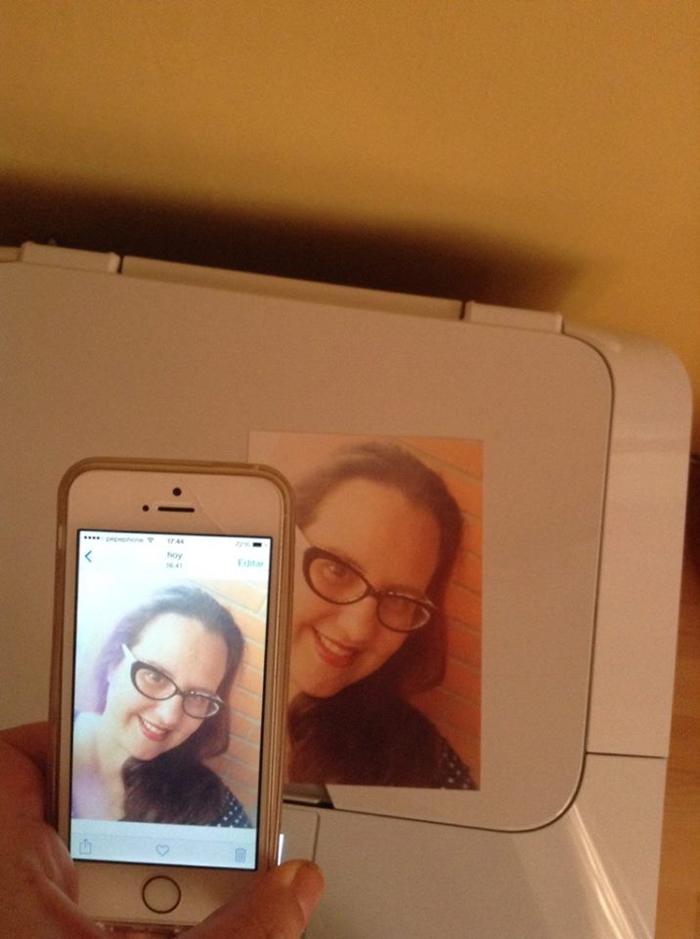 Desafio Pixma selfie