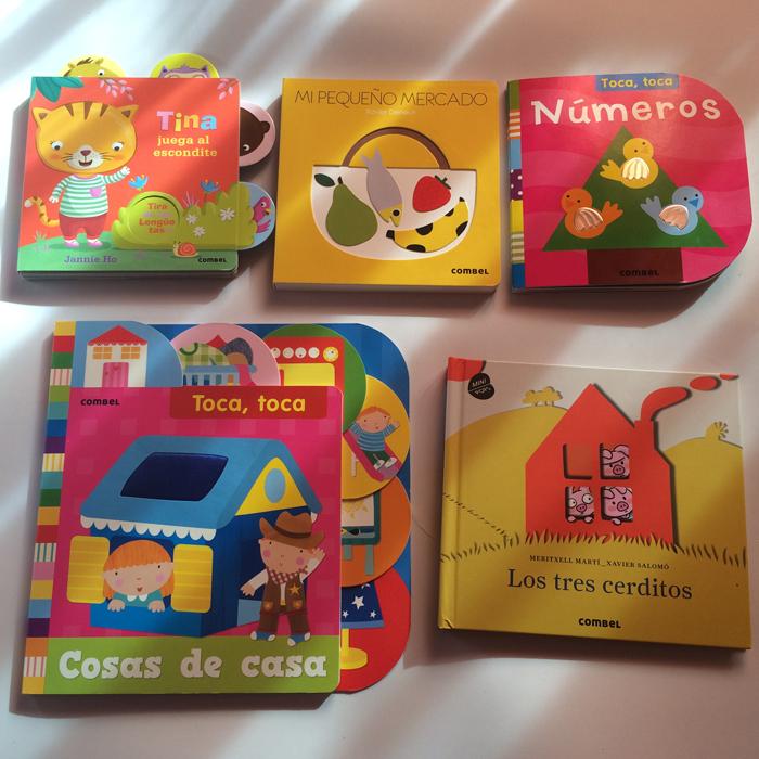 Libros para bebés de Combel
