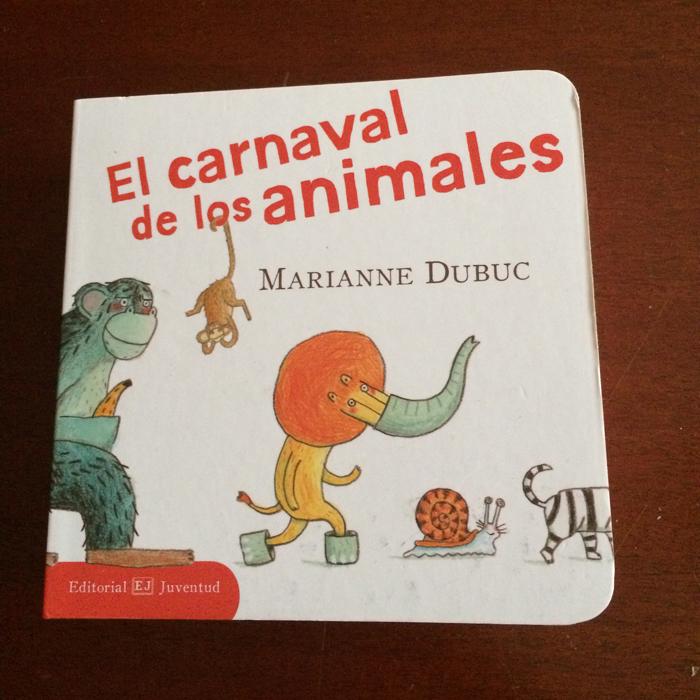 libros infantiles el carnaval de los animales