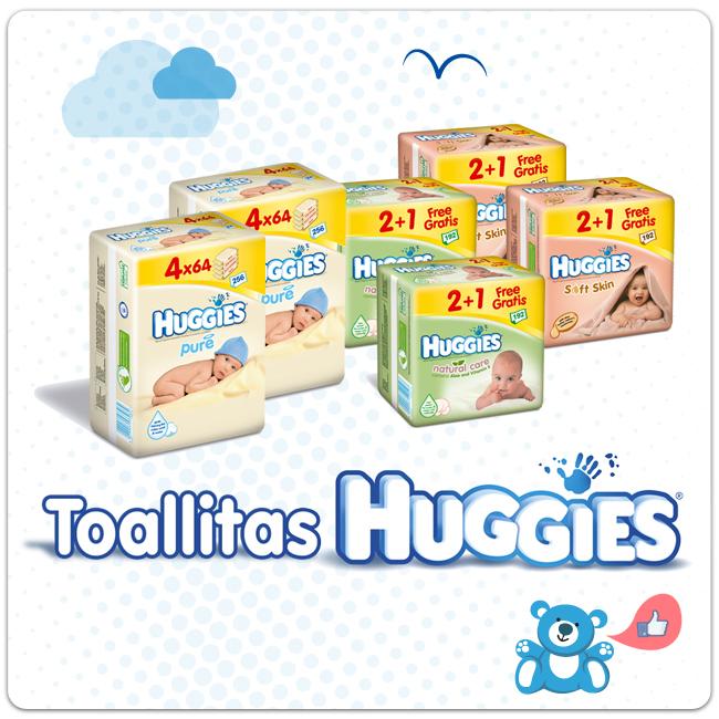 toallitas Huggies