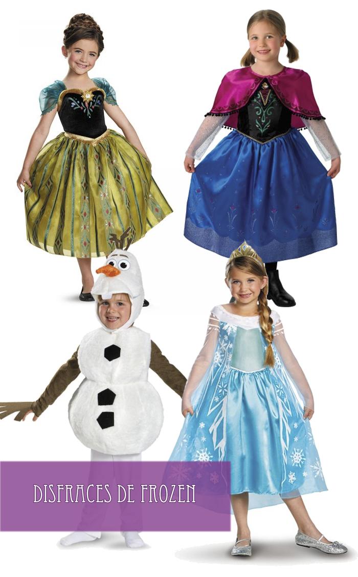 Disfraces Frozen Funidelia