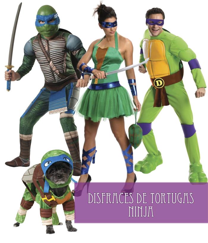 Disfraz tortugas ninja funidelia