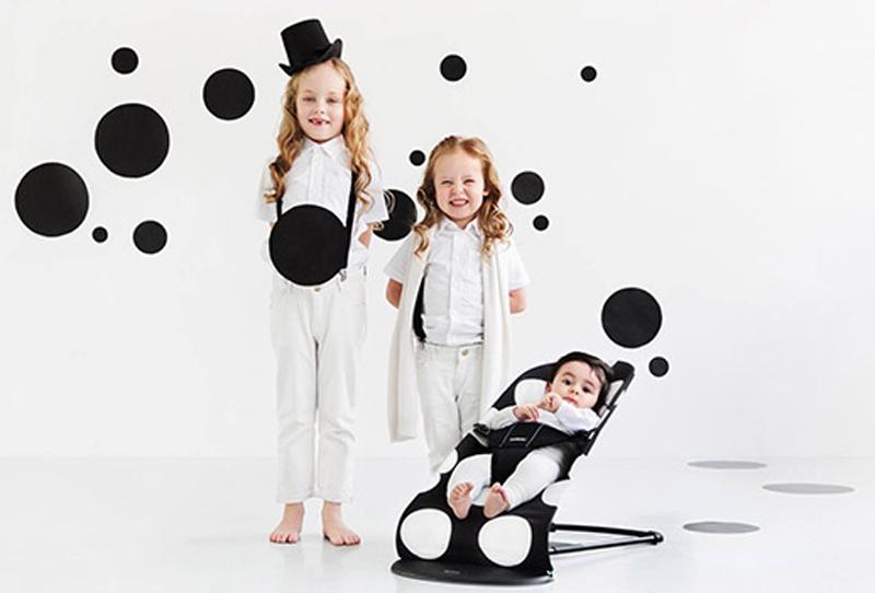 hamaca BabyBjörn Balance edición especial Dots