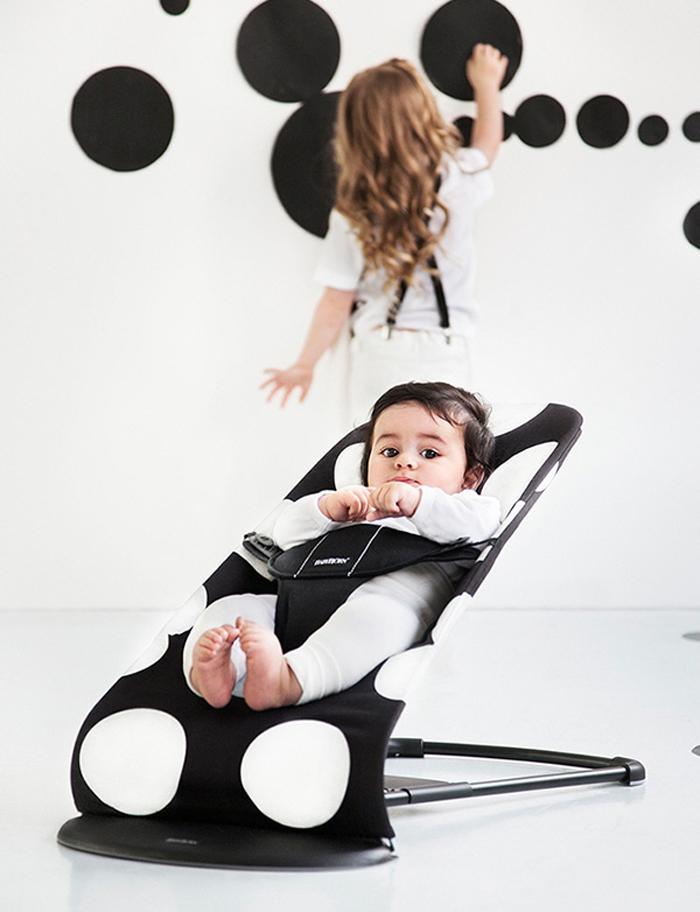 Hamaca Baby Bjorn Balance dots