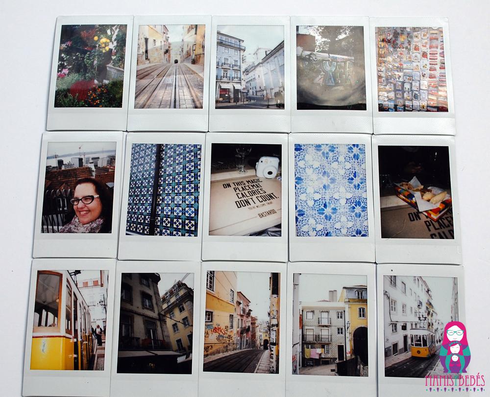 Fuji instax fotos Lisboa