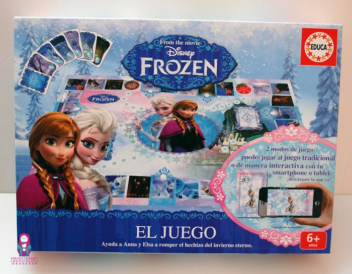 El juego de mesa de Frozen