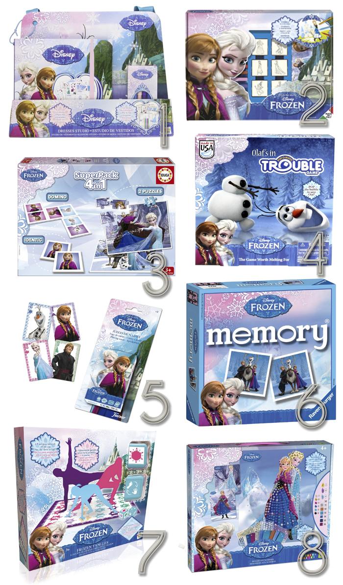 frozen juegos