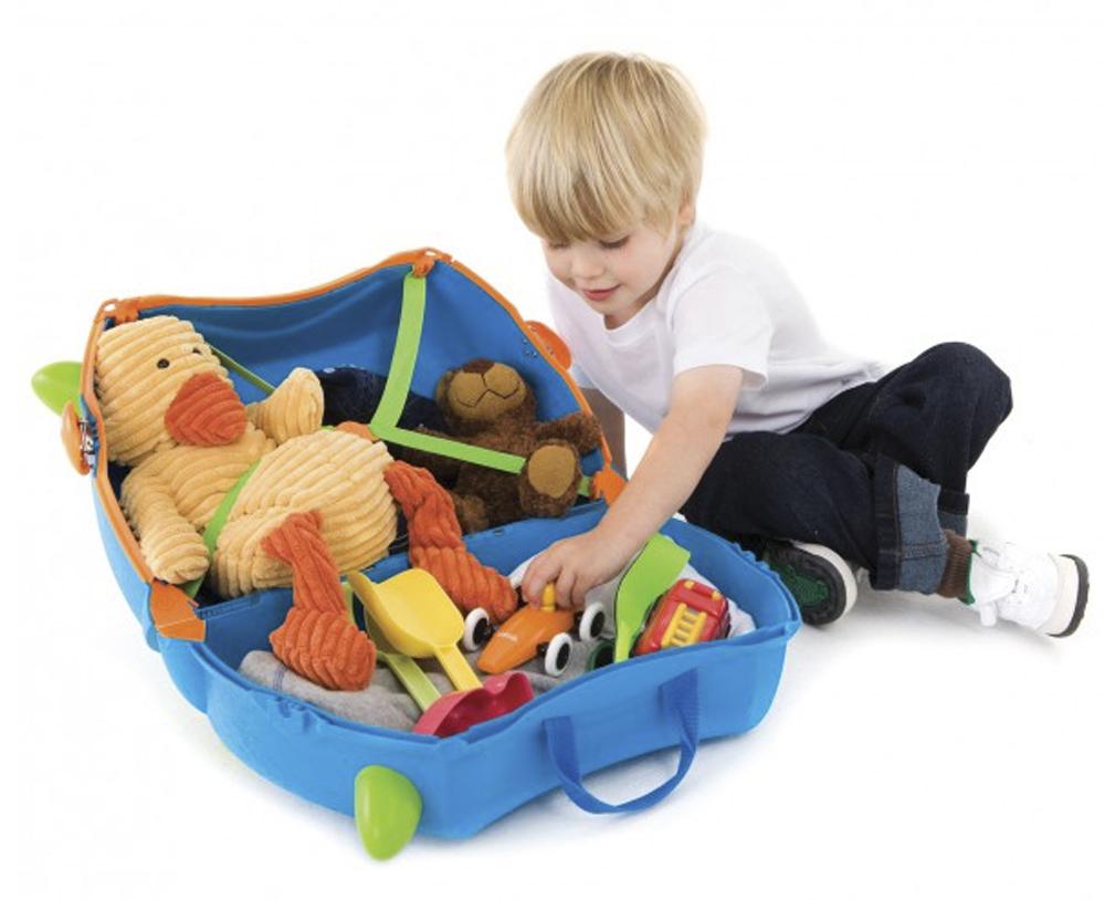 maleta infantil trunki interior