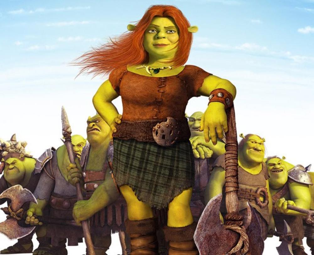Shrek Fiona Warrior
