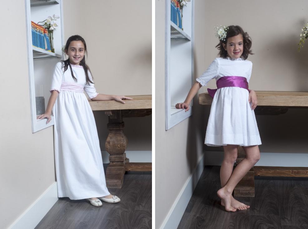 mi vestido de comunion