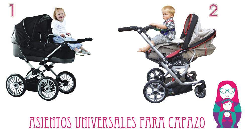 asientos universales para capazo