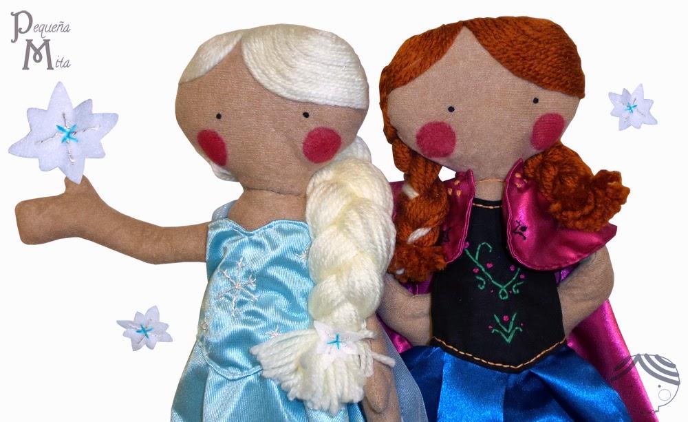 muñecas de pequeña mita