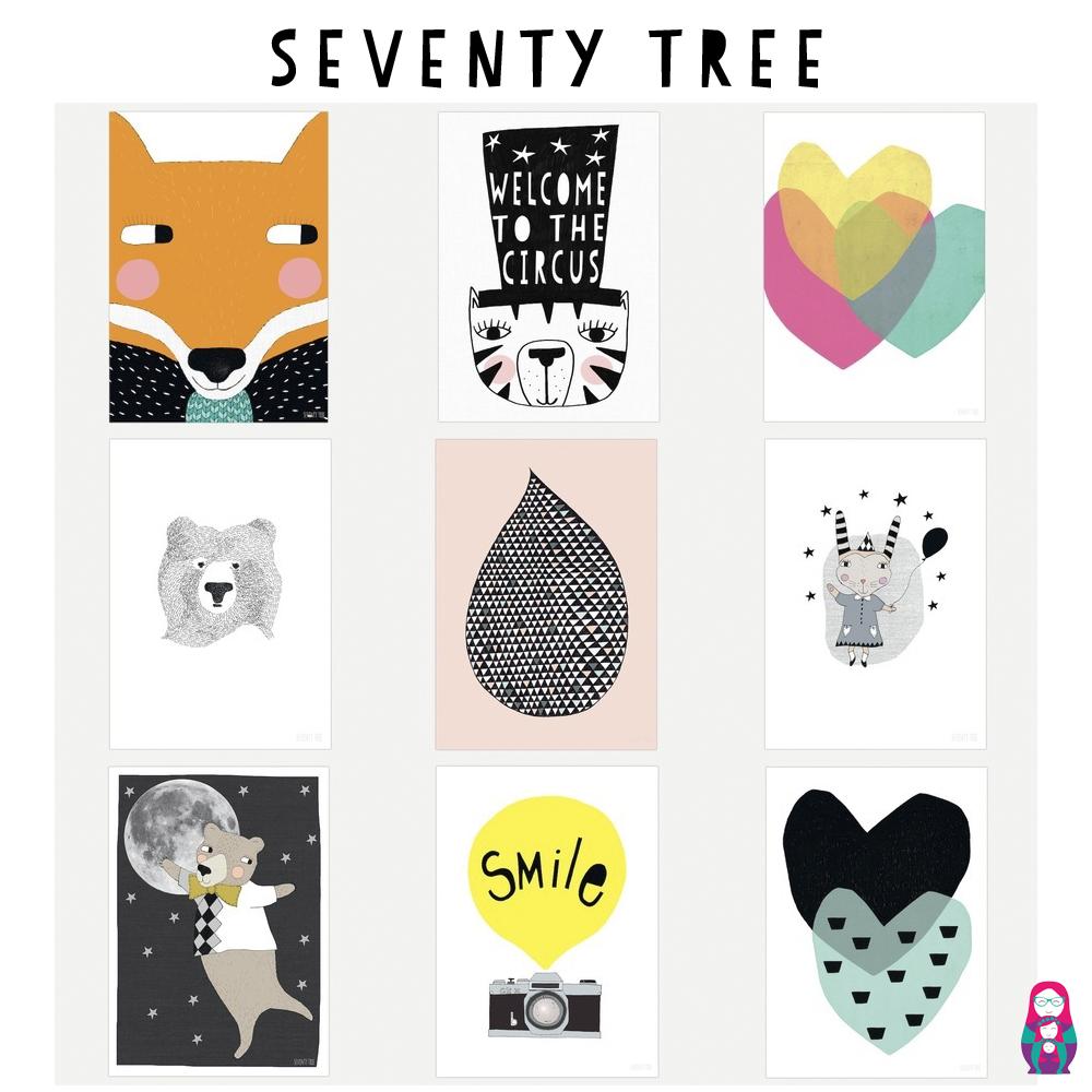 seventy tree laminas infantiles