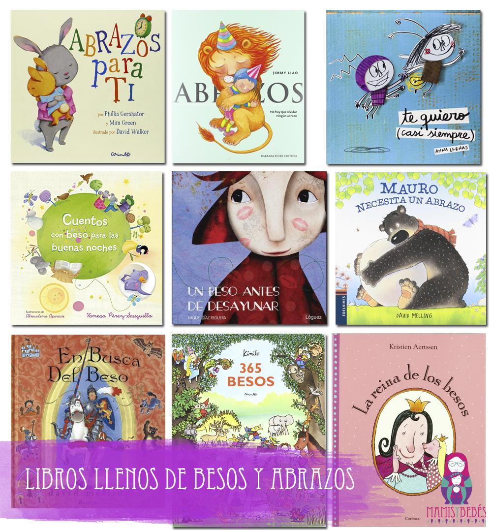 libros infantiles con besos y abrazos