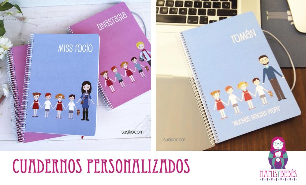cuadernos personalizados susiko