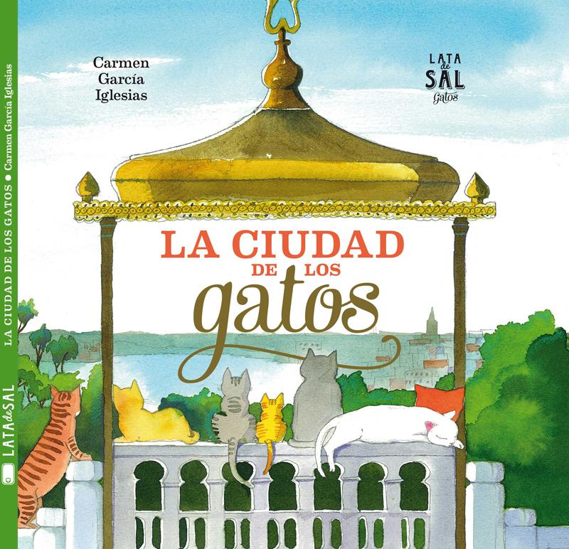 Libros para los niños que adoran los gatos la ciudad de los gatos