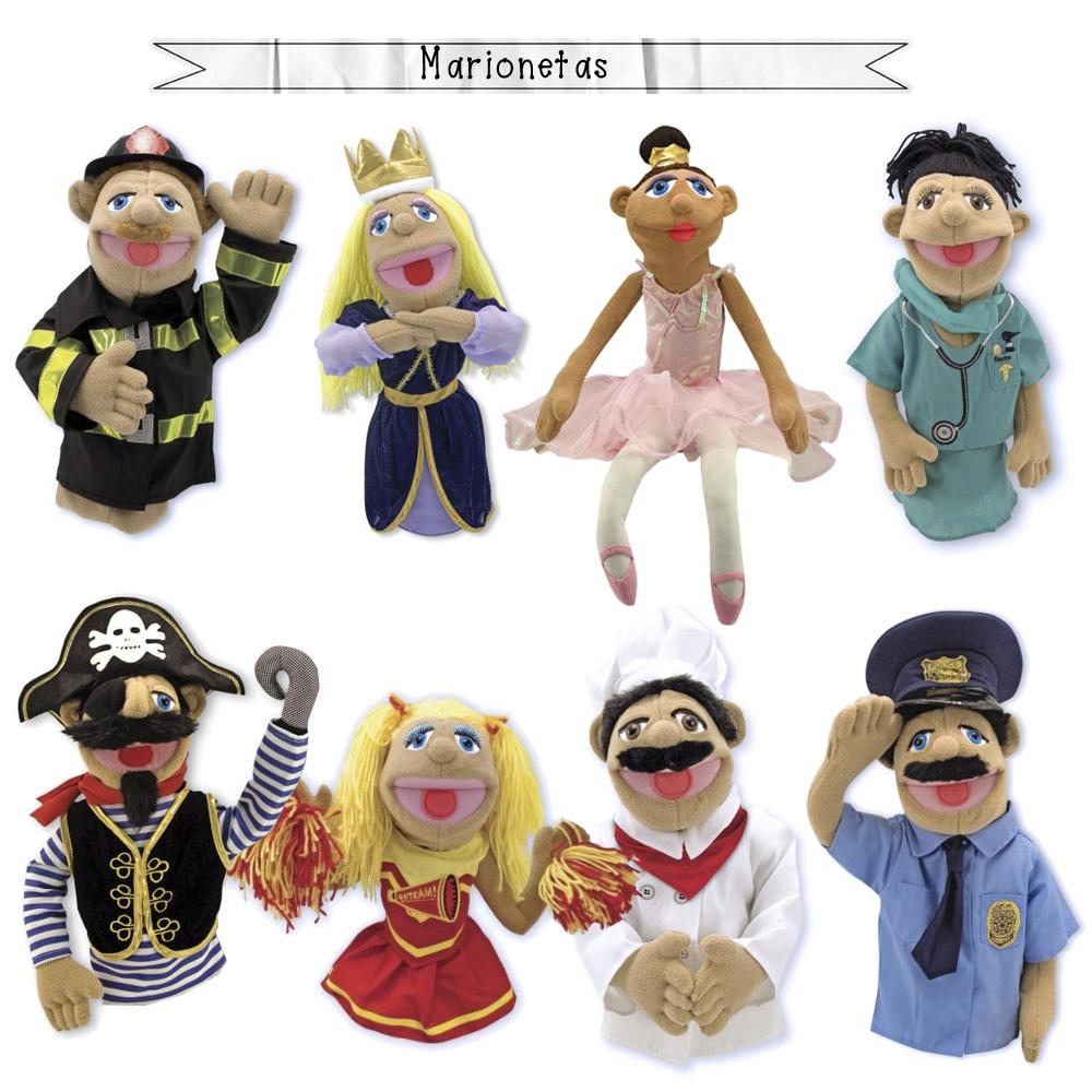 marionetas melissa & doug