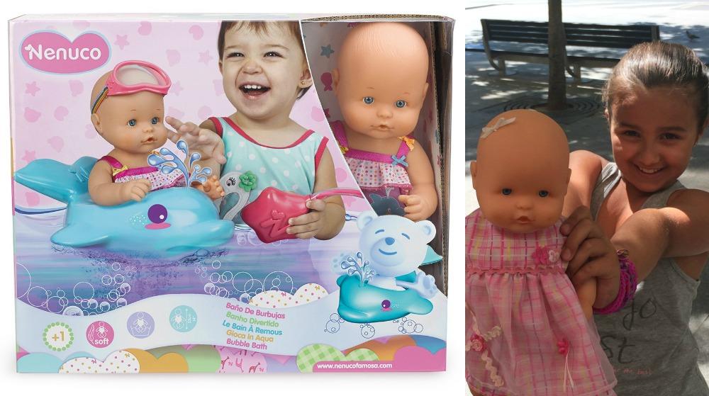 Banco de pruebas nenucos del verano mamis y beb s - Nenuco bano de burbujas ...