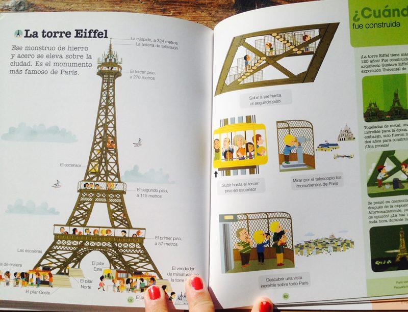 guías de viaje para niños: Todo sobre París