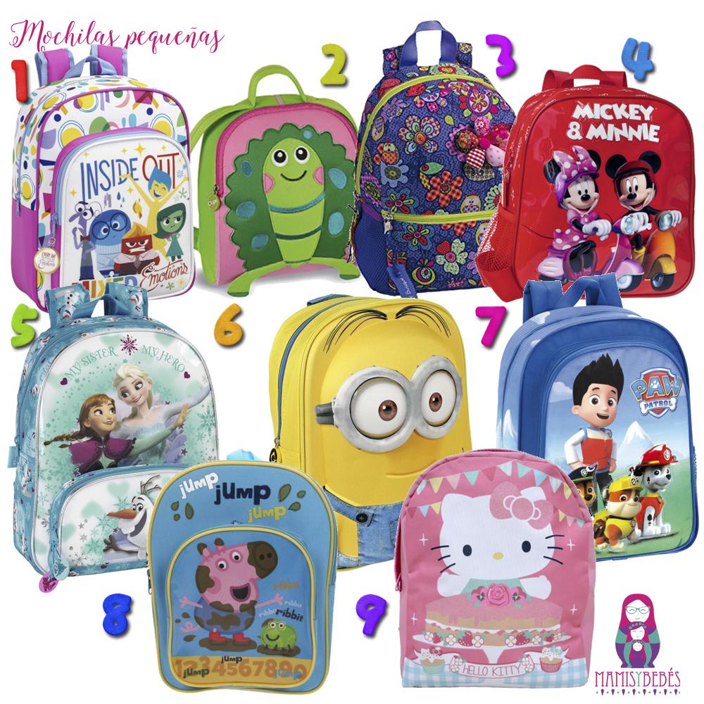 mochilas guarderia pequenas