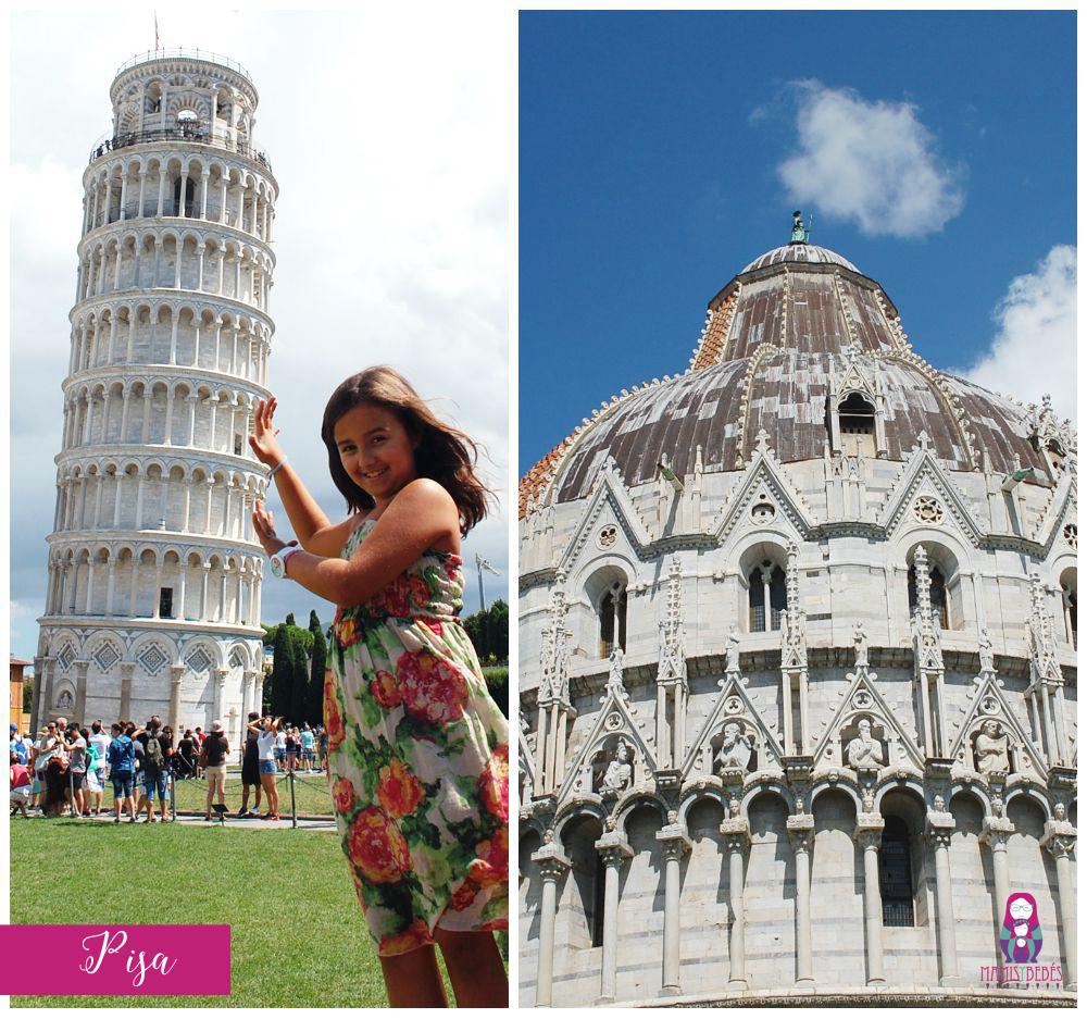Vacaciones en toscana. Pisa