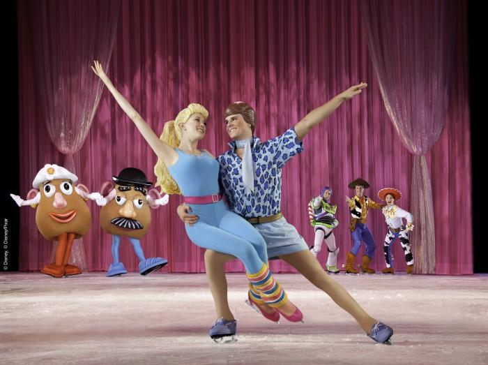 Disney on ice 2016 Ken Barbie