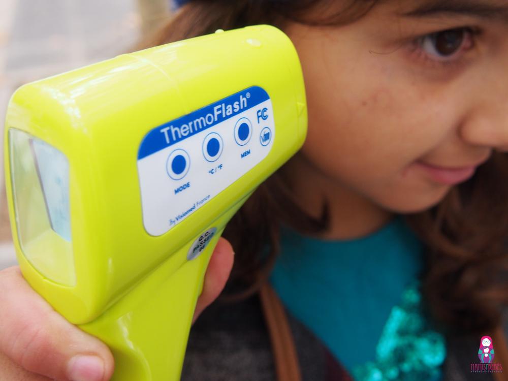 termómetro Thermoflash de Visiomed