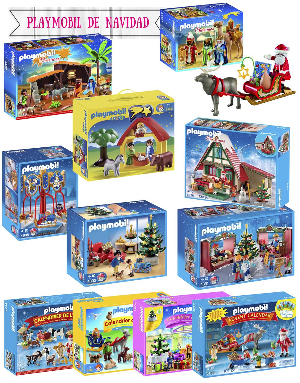 Belenes de juguete para los niños Playmobil Christmas