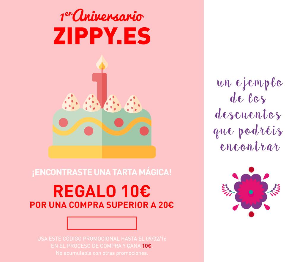 La tienda online de Zippy cumple un año online