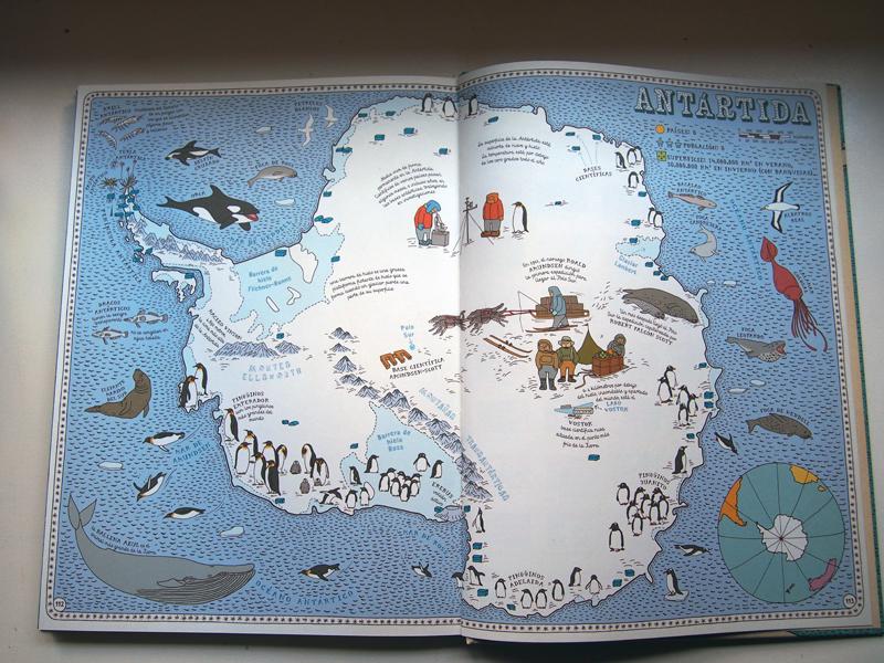 Atlas del mundo Antártida