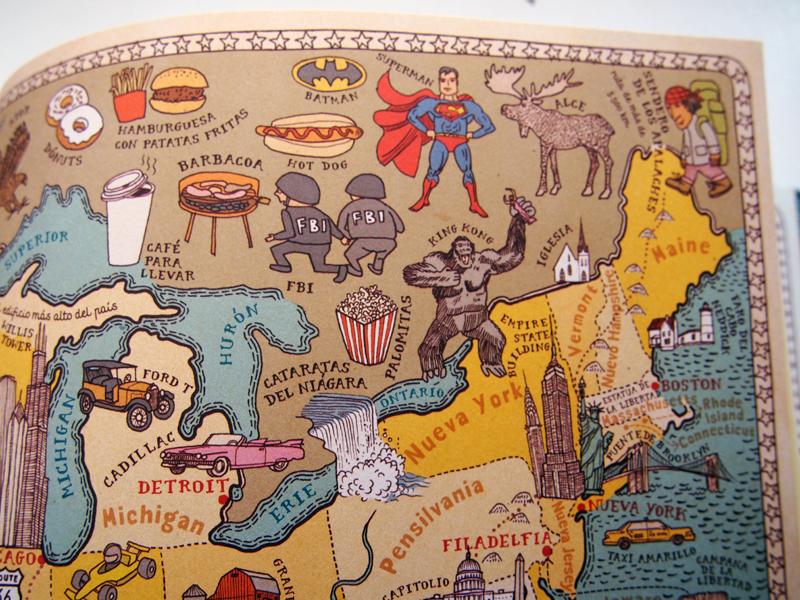 Atlas del mundo EEUU
