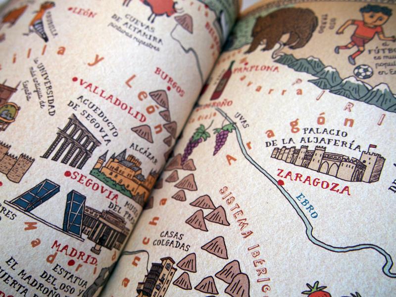 Atlas del mundo Zaragoza
