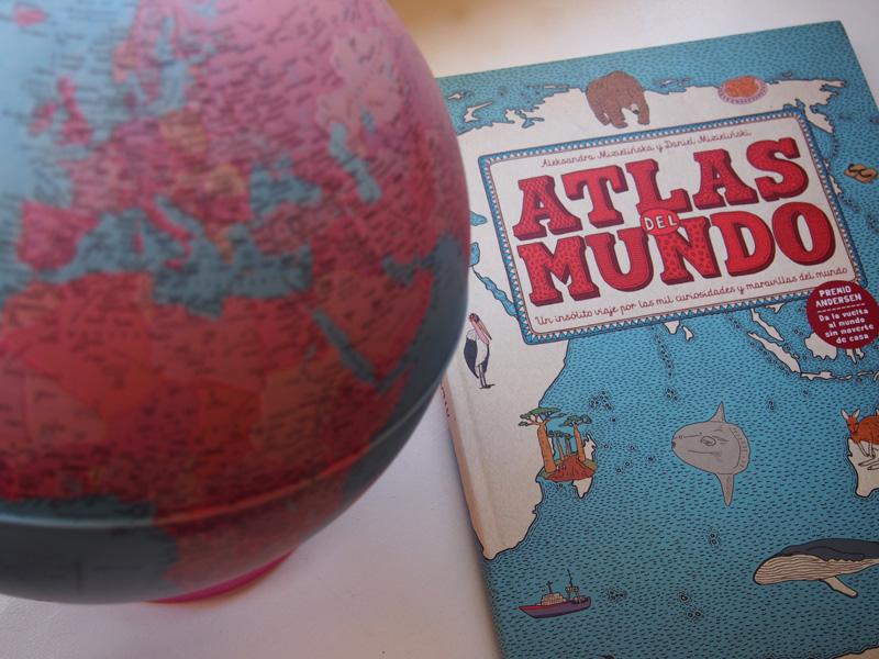 Atlas del mundo de Maeva. Aleksandra Mizielinska y Daniel Mizielinski
