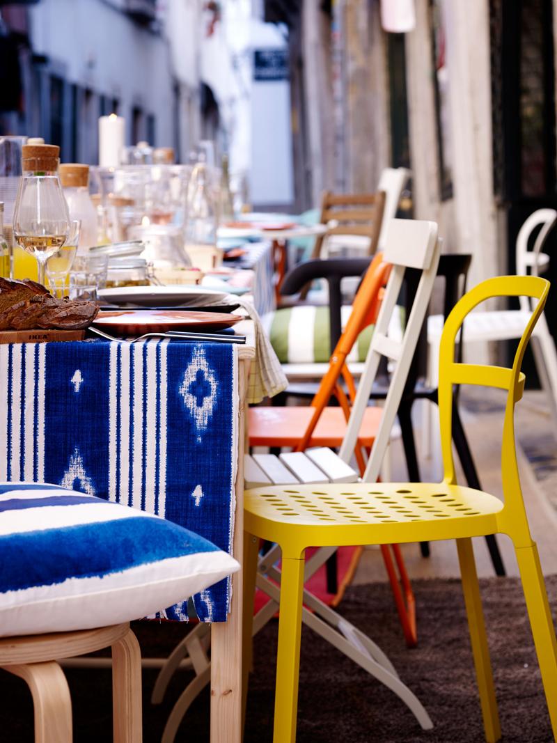Ikea decoracion verano sillas