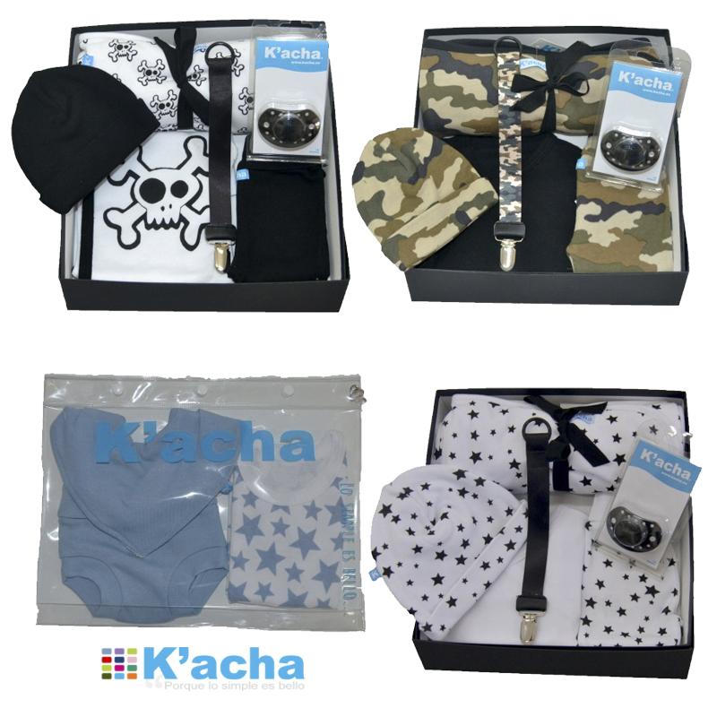 Kacha packs regalo. Ropita de bebé recién nacido