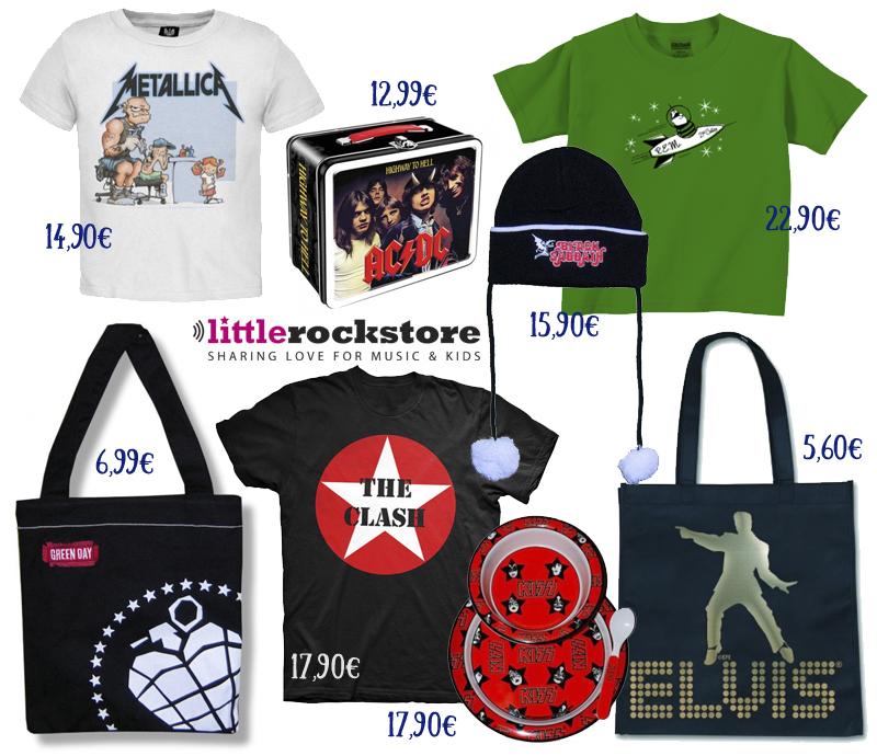 tienda Little Rockstore ropa rockera