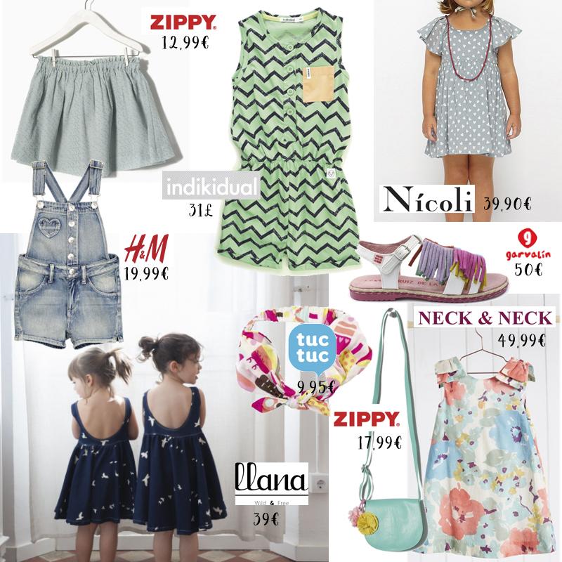 tendencias de moda infantil Primavera verano 2016 niña