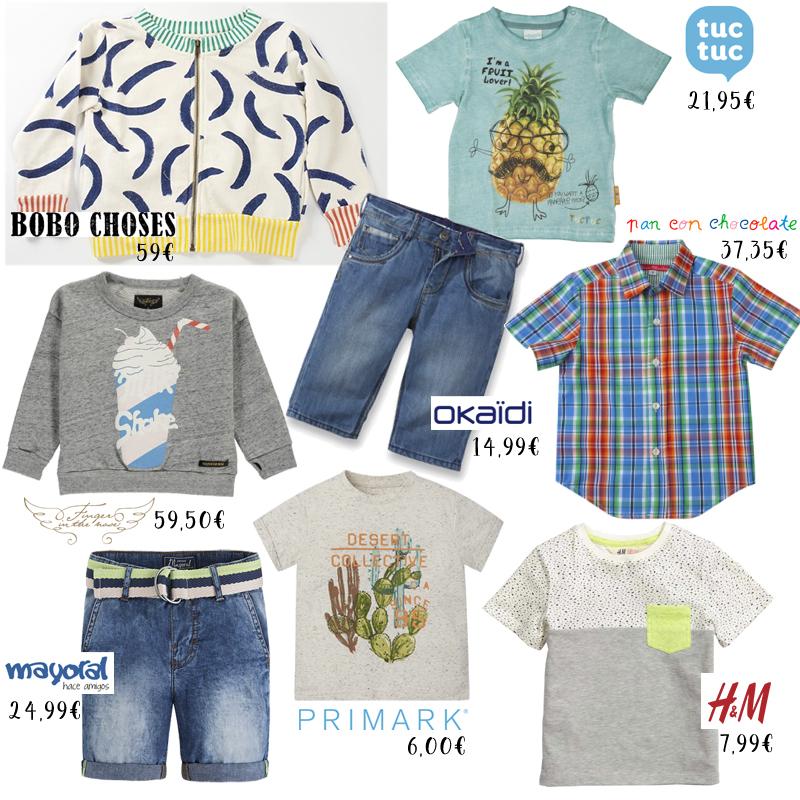 tendencias de moda infantil Primavera verano 2016 niño
