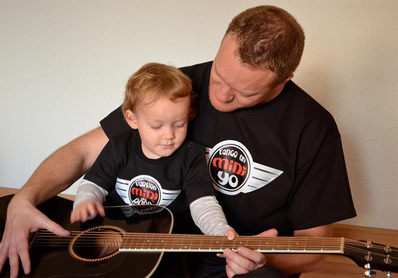 ni azulito ni rosita guitarra regalos originales para bebés modernos