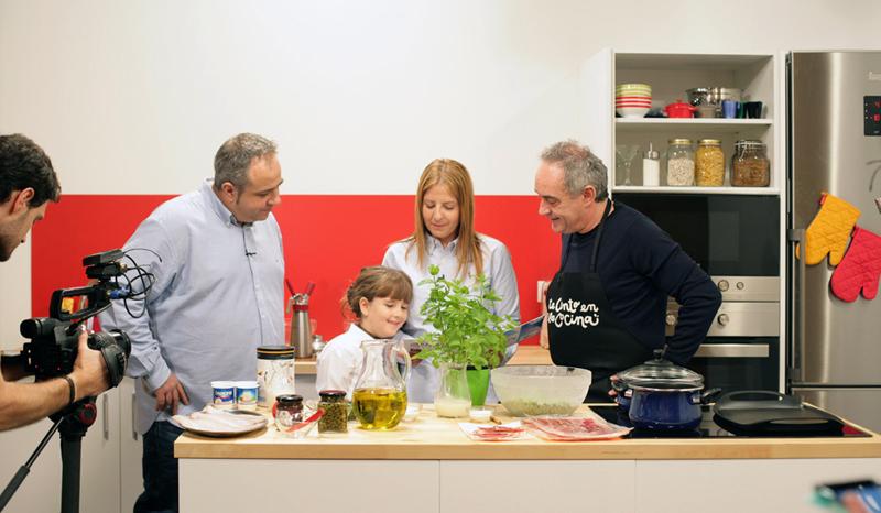 Ferran Adria te cuento en la cocina
