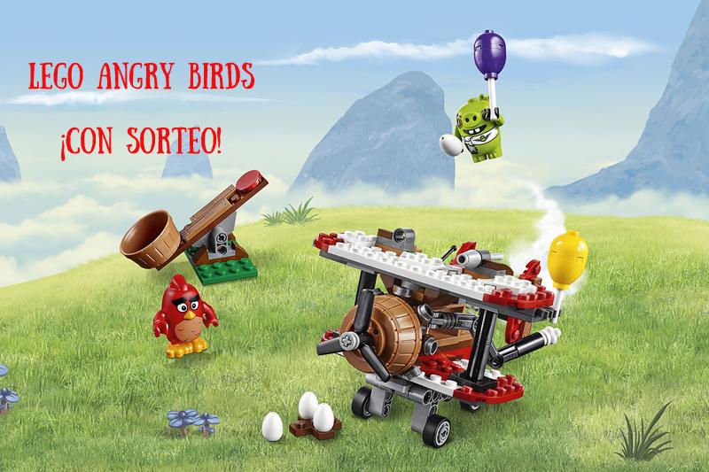 Lego Angry Birds portada