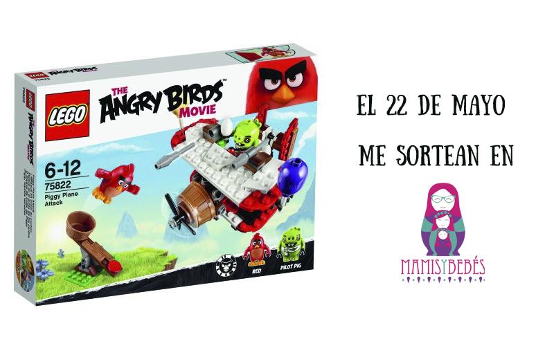 sorteo lego angry birds mamis y bebes