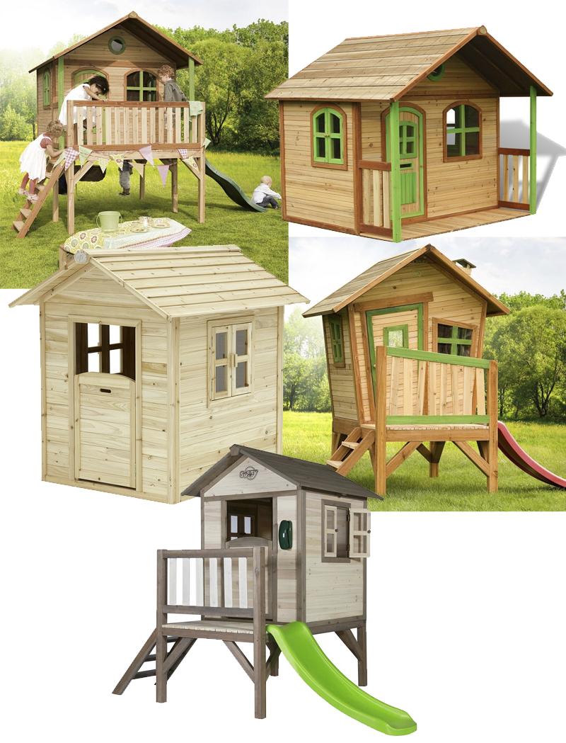 Casitas infantiles para jard n mamis y beb s for Casitas de madera para jardin para ninos