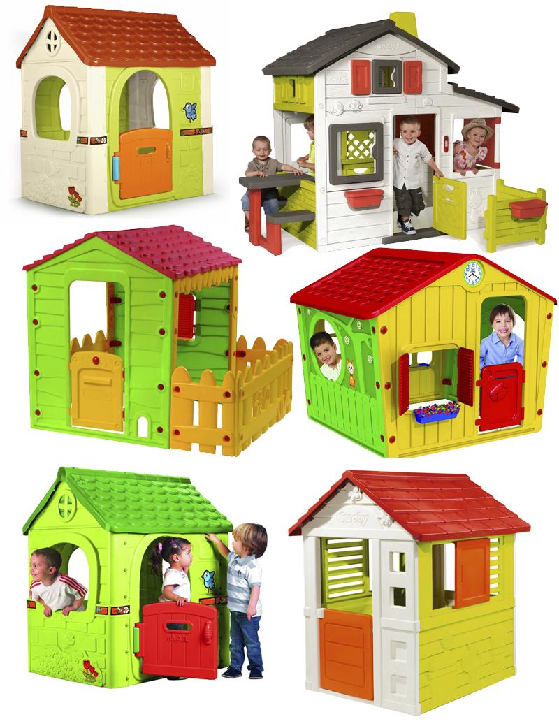 Casitas Infantiles Para Jardin Mamis Y Bebes - Casitas-de-plastico-para-jardin
